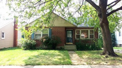 Downers Grove Single Family Home For Sale: 411 Chicago Avenue
