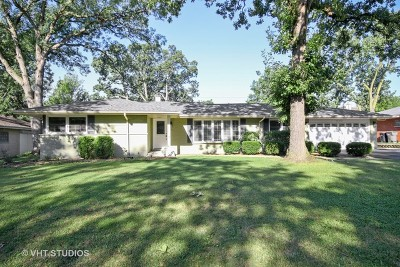 Orland Park Single Family Home Re-Activated: 14512 Ridge Avenue