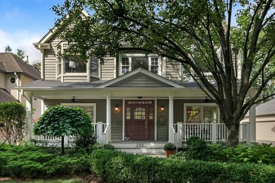 Hinsdale Single Family Home For Sale: 206 Justina Street
