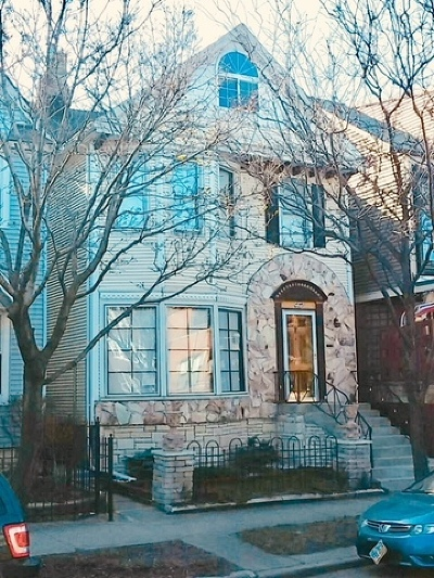 Single Family Home Re-Activated: 4244 North Ashland Avenue