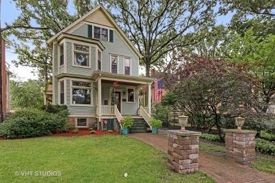 Wilmette Single Family Home For Sale: 1241 Maple Avenue