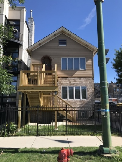 Multi Family Home For Sale: 1328 West Hubbard Street