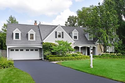 Wilmette Single Family Home For Sale: 910 Shabona Lane