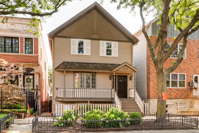 Single Family Home For Sale: 1649 West Wrightwood Avenue