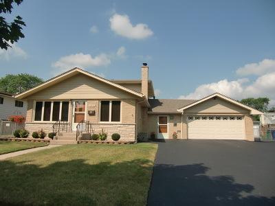 Chicago Ridge  Single Family Home For Sale: 10954 Parkside Avenue
