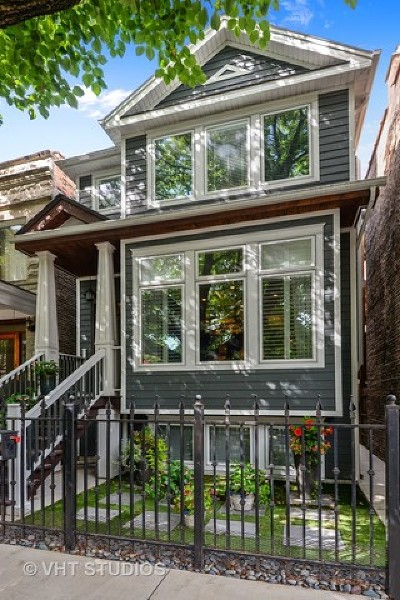 Single Family Home For Sale: 3756 North Hermitage Avenue