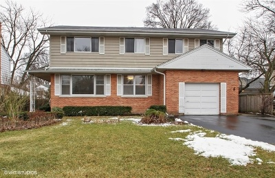Wilmette Single Family Home For Sale: 2521 Thornwood Avenue