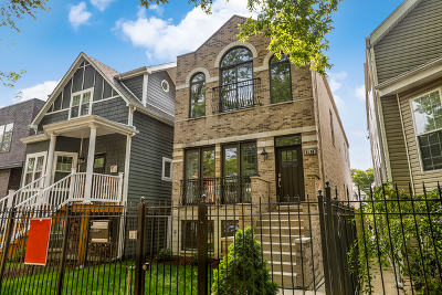 Single Family Home For Sale: 4106 North St Louis Avenue
