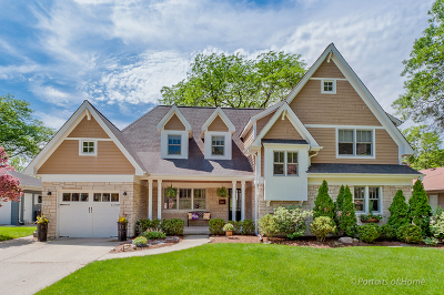 Glen Ellyn Single Family Home For Sale: 979 Oxford Road