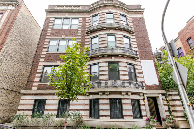 Condo/Townhouse For Sale: 449 West Aldine Avenue #4