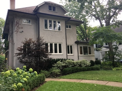 Evanston Single Family Home For Sale: 1135 Michigan Avenue