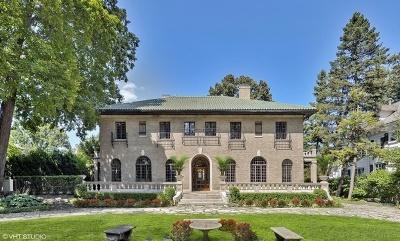 Wilmette Single Family Home For Sale: 1020 Chestnut Avenue