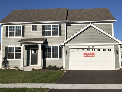 Plainfield Single Family Home For Sale: 16925 South Callie Drive