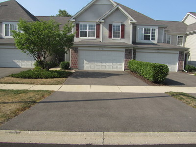 Naperville Condo/Townhouse For Sale: 3261 Cool Springs Court