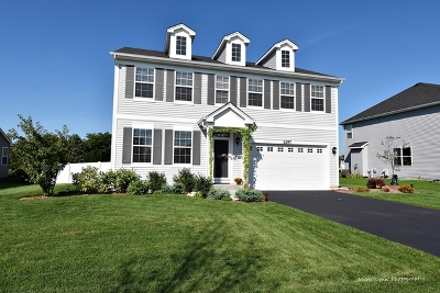 North Aurora Single Family Home Price Change: 1297 Kilbery Lane