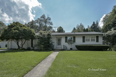 Palatine Single Family Home Contingent: 633 East Macarthur Drive