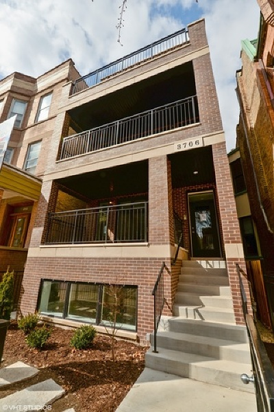 Condo/Townhouse For Sale: 3706 North Damen Avenue #1