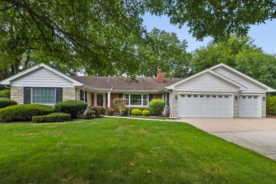 Burr Ridge Single Family Home For Sale: 1108 Woodview Road