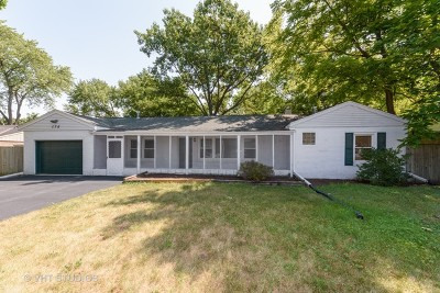 Lake Zurich Single Family Home For Sale: 176 North Pleasant Road