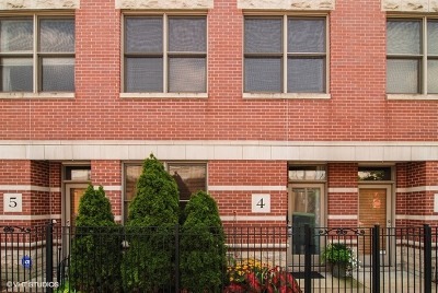 Oak Park Condo/Townhouse For Sale: 100 South Elmwood Avenue #4