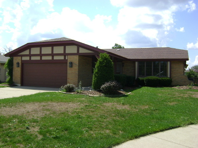 Tinley Park Single Family Home For Sale: 17622 Redwood Lane