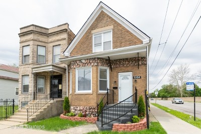 Chicago IL Single Family Home Re-Activated: $154,900
