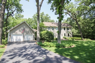 Hampshire Single Family Home For Sale: 44w930 Deerpath Lane