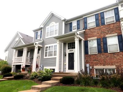 Plainfield Condo/Townhouse For Sale: 24624 George Washington Drive