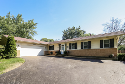 Libertyville Single Family Home Contingent: 15050 West Clover Lane