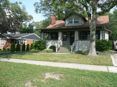 Western Springs Single Family Home For Sale: 4217 Johnson Avenue