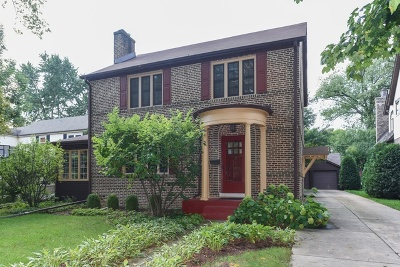 Western Springs Single Family Home For Sale: 4136 Ellington Avenue