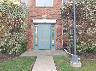 Lake In The Hills Condo/Townhouse For Sale: 1374 Cunat Court #1A
