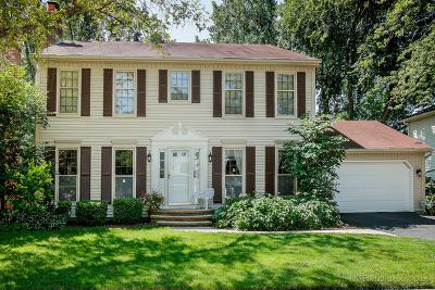 Wheaton Single Family Home For Sale: 25w745 White Birch Court
