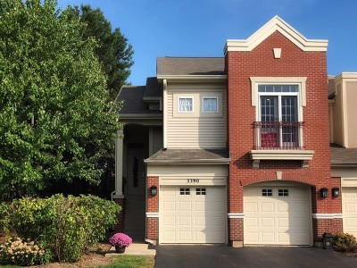 Naperville Condo/Townhouse Price Change: 3390 Rosecroft Lane