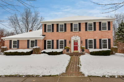 Naperville Single Family Home For Sale: 387 Glen Echo Road
