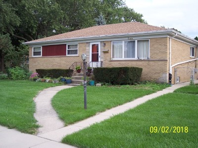 Mount Prospect Single Family Home For Sale: 2 Hatlen Avenue