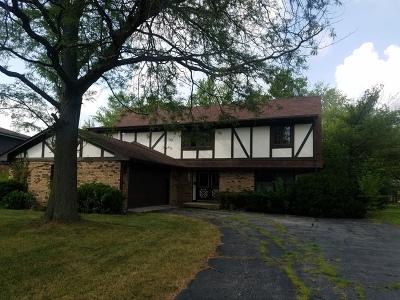 Flossmoor  Single Family Home For Sale: 2927 Polly Lane