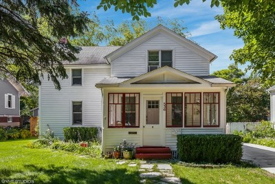 Barrington Single Family Home Price Change: 536 South Hough Street