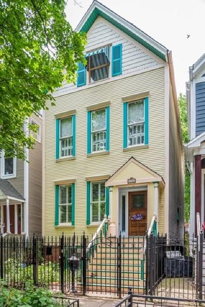 Single Family Home For Sale: 2916 North Racine Avenue