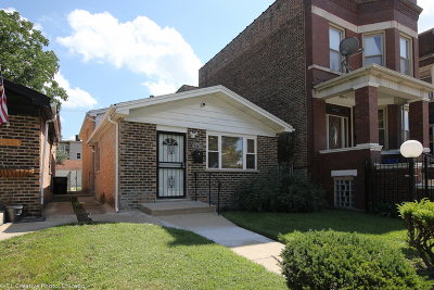 Chicago Single Family Home Re-Activated: 7447 South Champlain Avenue