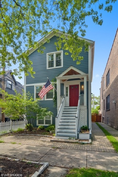 Single Family Home For Sale: 3614 North Hamilton Avenue