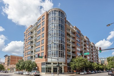 Condo/Townhouse For Sale: 1200 West Monroe Street #515
