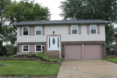 Hoffman Estates Single Family Home For Sale: 1475 Caldwell Lane