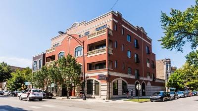 Condo/Townhouse For Sale: 852 North Damen Avenue #4