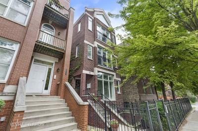 Condo/Townhouse For Sale: 3837 North Damen Avenue #3