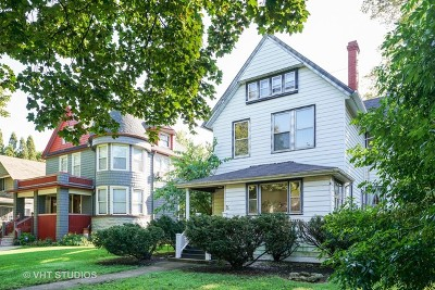 Oak Park Single Family Home For Sale: 142 South Scoville Avenue
