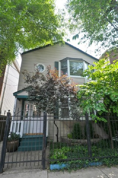 Wicker Park, Bucktown Single Family Home Contingent: 1255 North Marion Court