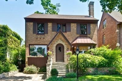 Wilmette Single Family Home For Sale: 100 Garrison Avenue