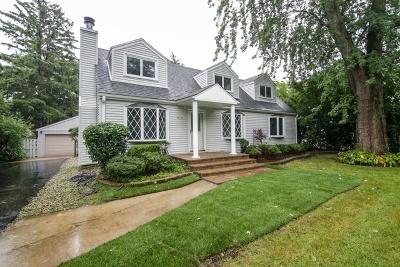 Glenview Single Family Home Price Change: 813 Glendale Road