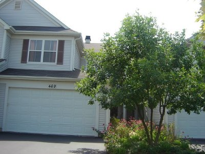 Bartlett Condo/Townhouse For Sale: 469 Horizon Drive #A1